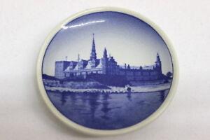 Royal Copenhagen Denmark Porzellan Wandteller No 5 Kronborg Slot