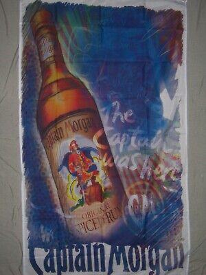 Captain Morgan Spiced Rum Vertical Flag 3x5 ft Indoor//Outdoor Banner