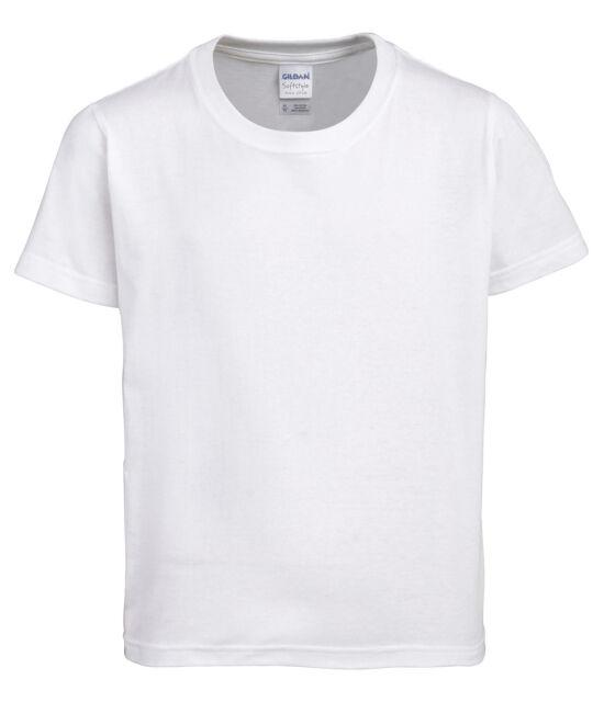 c7656a94 Gildan Softstyle™ Youth Ringspun t-Shirt All Sizes Summer t shirt Cotton Tee