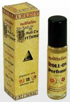 Meditation Range Aust Made-bend Of 12 Essential Oils- 4 X 11 Ml Roll On Perfume