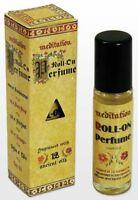Meditation Range Aust Made-bend Of 12 Essential Oils- 2 X 11 Ml Roll On Perfume