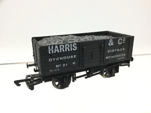 Dapol-Antics-OO-Gauge-7-Plank-Wagon-Harris-amp-Co-Woodchester