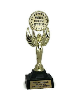 World-039-s-Greatest-Boyfriend-Trophy-Love-Admire-Respect-Honor-Free-Lettering