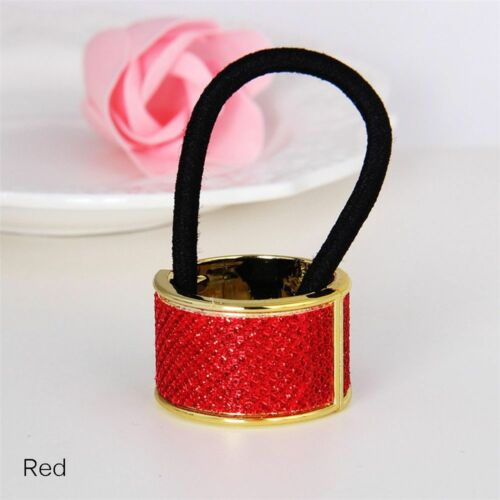 6 Colors Elastic Hair Ring Charm Women Punk Circle Vintage Delicate Hair Bands