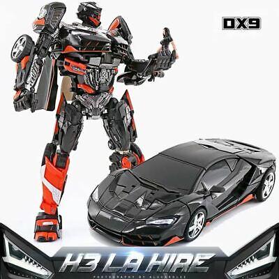 DX9 Robot Soul Series Hot Rod Rodimus Robot K3 LA HIRE H3 Action Figure 18.5CM