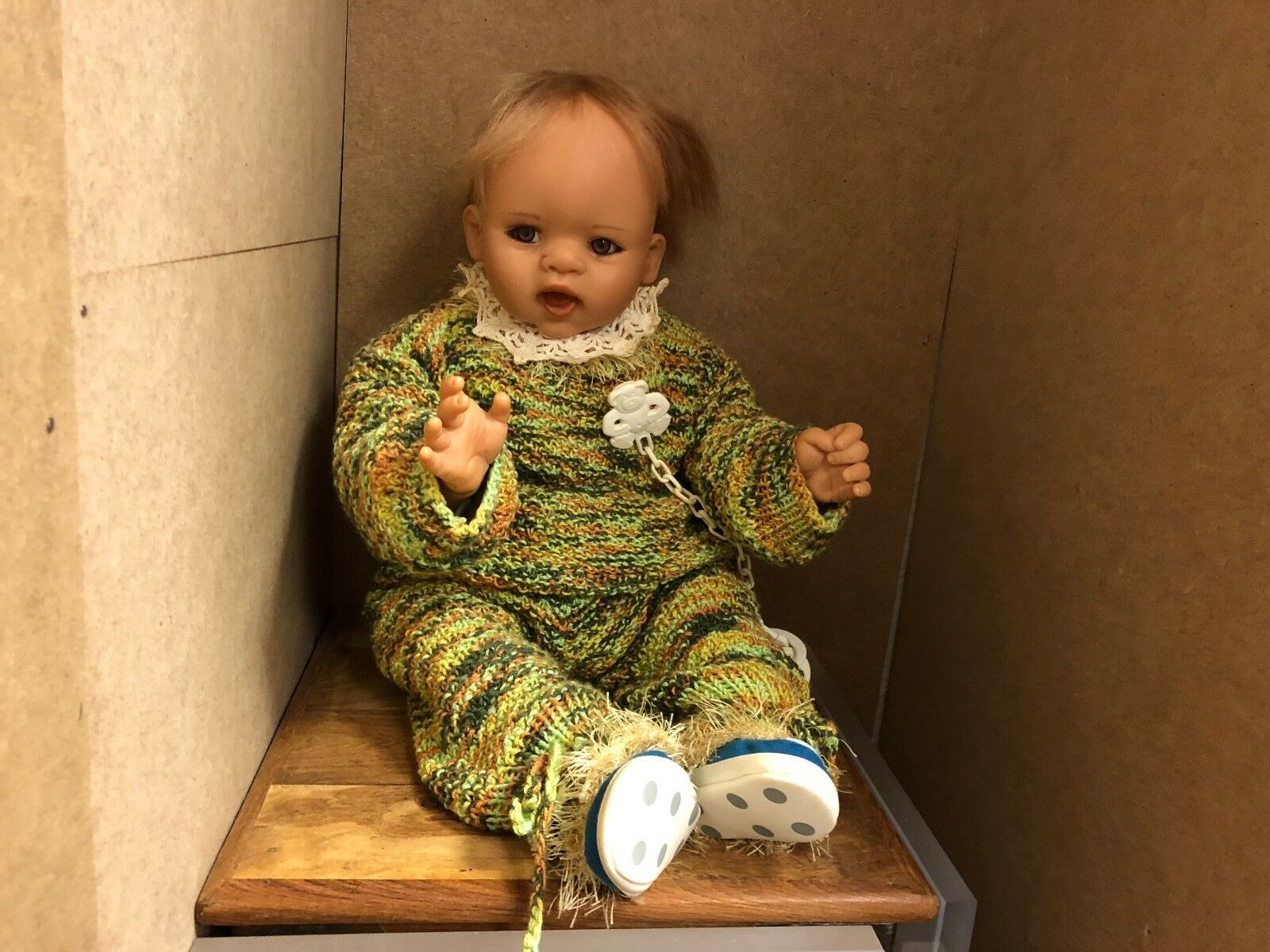 Gaby Jaques Vinyl Puppe 53 cm. Top Zustand