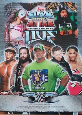 Topps Slam Attax univers Legends WWE Belts objets stars du show 181-269