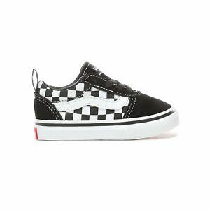 Vans Slip-On Sneakers Bambino Bianco Nero | eBay