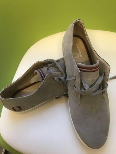 scamosciata Design Perry Uk in pelle 43 uomo Fred Eur Rare 9 Sneakers da taglia ZEfwqZ