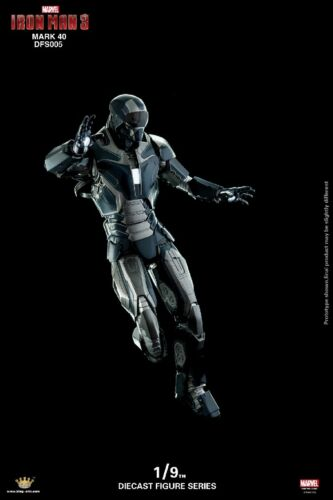 King Arts 1:9 Metal DFS005 MK40 Mark40 Iron Man Figure Model Toy Action Gift