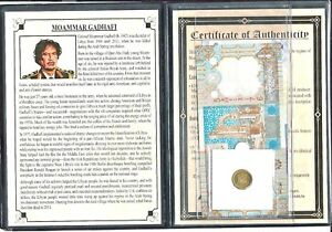 Moammar-Gadafi-Set-of-2-Banknotes-and-1-Coin-with-Story-Certificate-and-Album