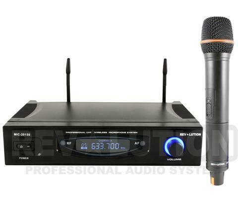 MIC-20150 UHF WIRELESS MICROPHONE SYSTEM