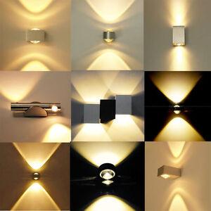 2W-3W-6W-LED-Wandlampe-Wandleuchte-Flurlampe-Badlampe-wandstrahler-Treppenlampe