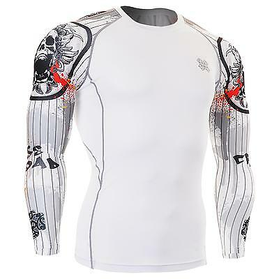 FIXGEAR CPD-W9 Compression Skin Tights Under Shirts MMA Workout Fitness GYM
