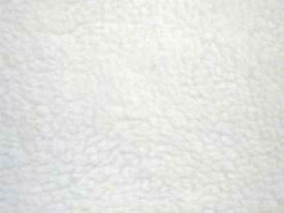 White Faux Sheepskin Sherpa Fleece Fabric Material / FREE P+P