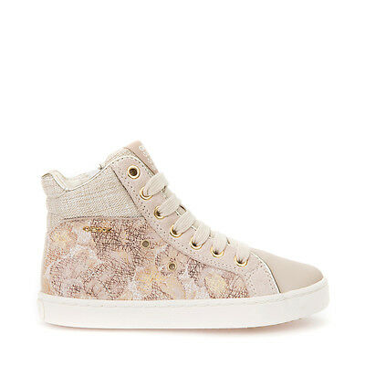 Geox Shoes Junior Baby Girl Girl SuedeFabric Embroidered Line Kiwi J72D5h | eBay
