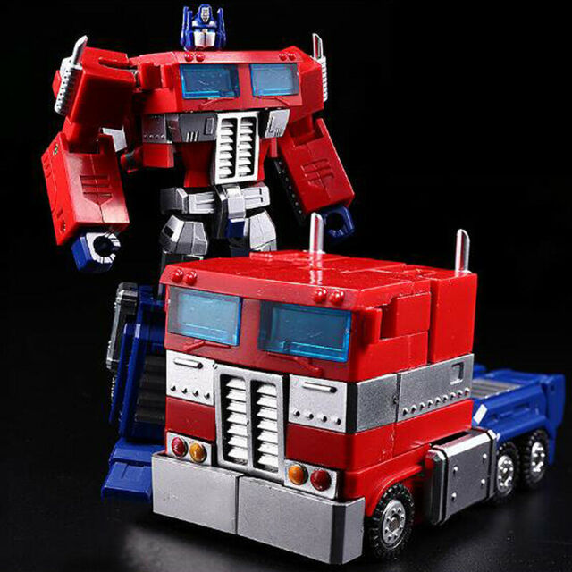 Transformers G1 Optimus Prime Megatron Shockwave Action Figure Boy Toy Xmas Gift