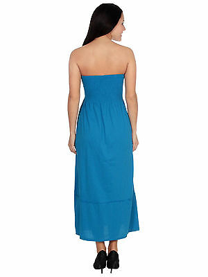 854942cabf Strapless Solid Color Maxi Dress Chest Wrapped Beach Dress Tube Top Long  Dress