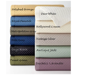 Ralph Lauren Home Wyatt Antique Jade One EUROPEAN Pillow Sham 100% Cotton $145