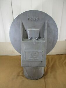 Safetran HYBRID Railroad Electronic Signal Gate Crossing Bell # 040201
