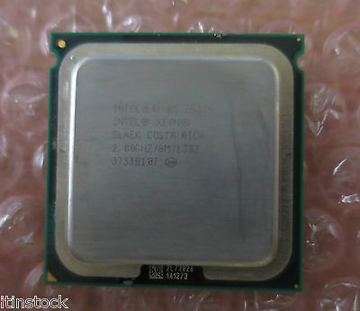 Intel Xeon Quad Core 2.00GHz 8MB E5335 LGA771 CPU Processor SLAEK with Heatsink