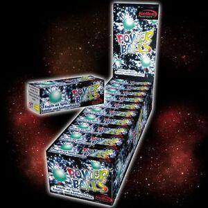60-Powerballs-Knatter-Baelle-Fireballs-Fasching-Silvester-Party-Kinder-Feuerwerk