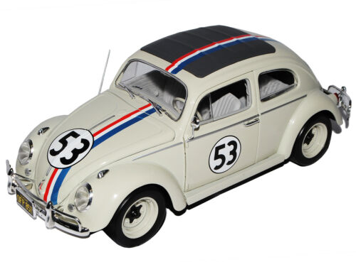 VW Volkswagen Käfer Herbie Nr 53 The Love Bug 1962 1//18 Mattel Hot Wheels Modell