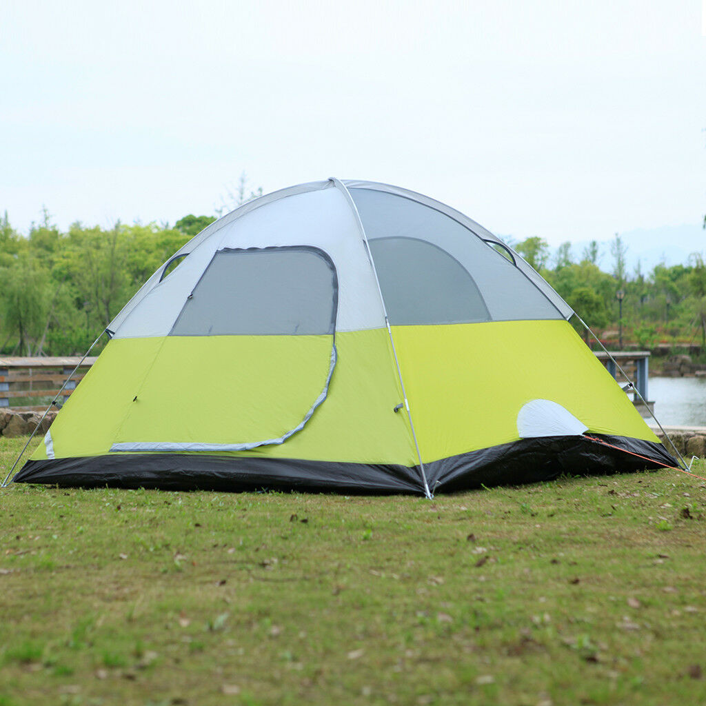 6-Person Dome Camping Tent Man Family Tent Camping Backpacking Hiking ... - s l1600