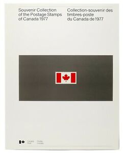 CANADA-1977-Year-Book-Stamp-Collection-A-full-set-of-Canada-Post-s-1977-Stamps