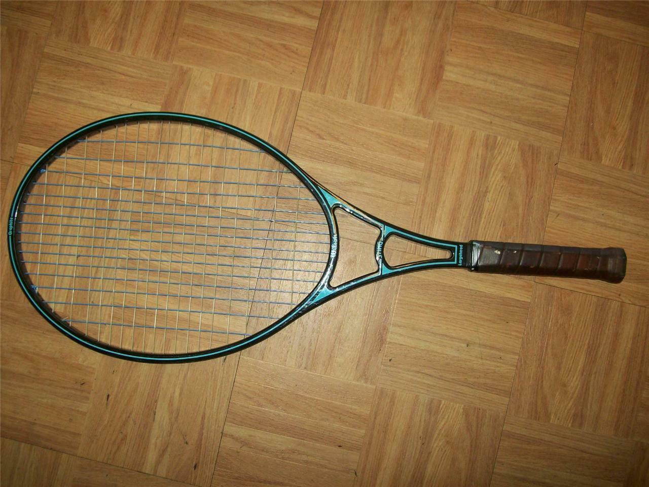 Wilson Sting Oversize 3/8 4 3/8 Oversize grip Tennis Racquet 31735c