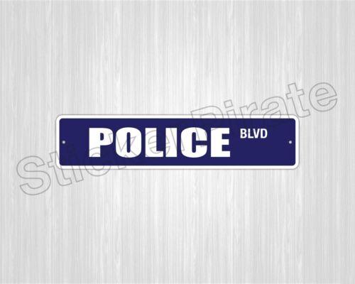 """* De Aluminio policía 4 /""""x 18/"""" De Metal Novelty signo calle Ss 2917"""