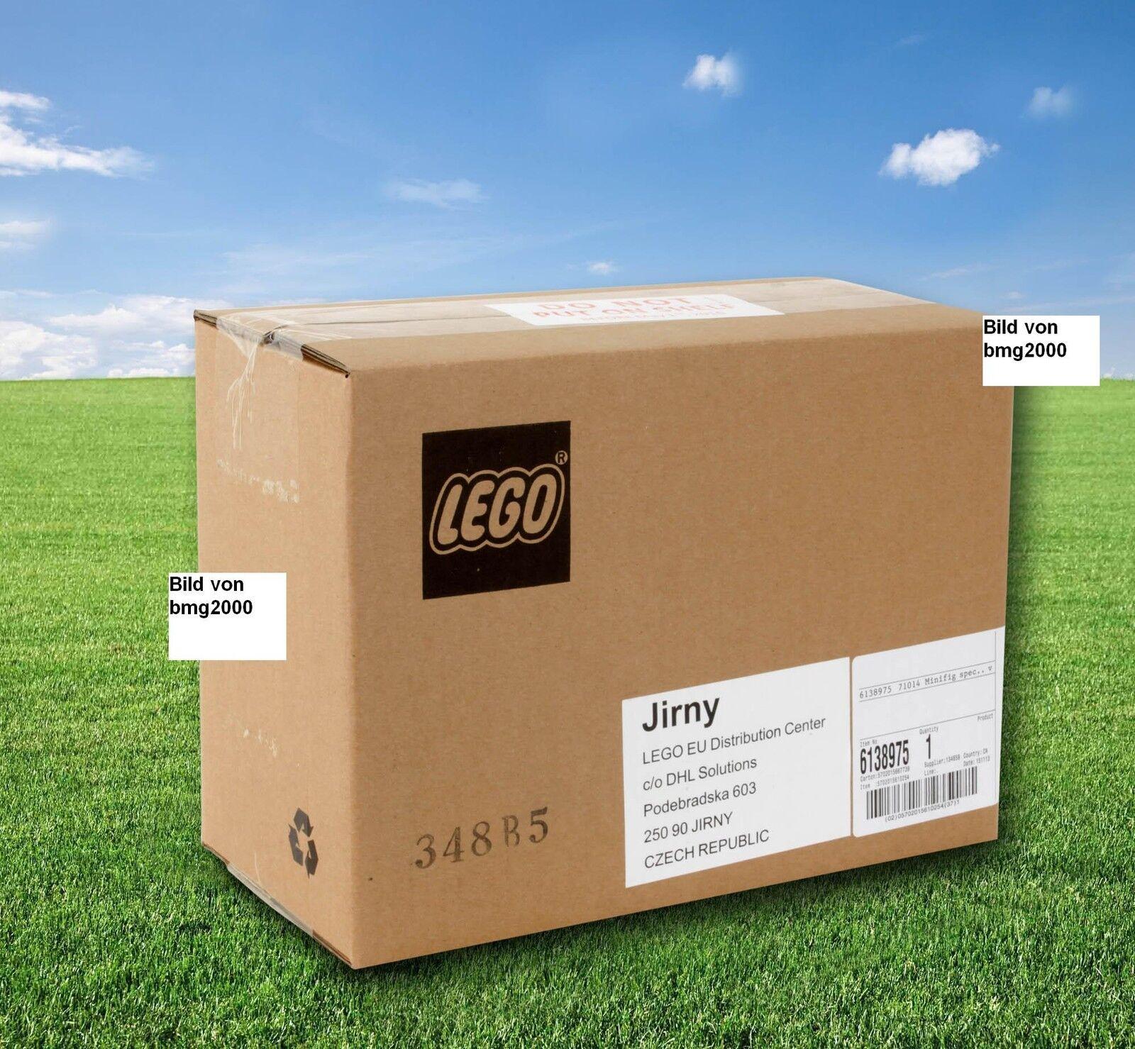 Lego écusson l'équipe Minifiguren 71014 Ensemble complet écran 60 personnages neuf dans sa boîte