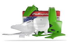 Kawasaki KX Plastic Kit for KX 125 250 99 - 02 Green