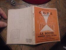 Ancien Manuel Code de la Route illustré MAGNY AUTO ECOLE Vincennes Le Perreux