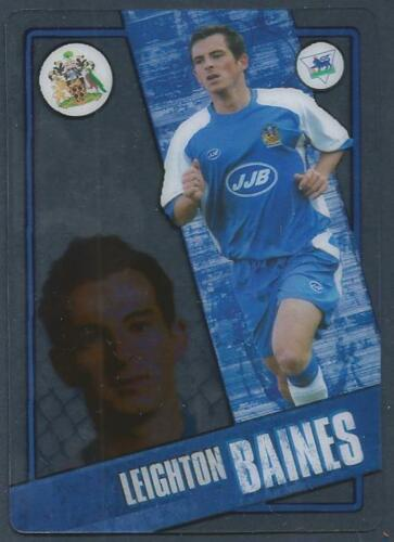 TOPPS I-CARD SERIES 2006-07 #097-WIGAN ATHLETIC-LEIGHTON BAINES
