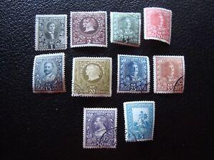 Montenegro-Briefmarke-Yvert-Und-Tellier-N-88-A-96-99-Gestempelt-A5