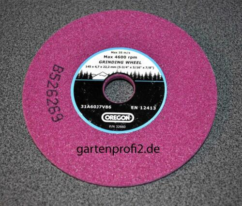 Schleifscheibe Oregon 145mm 4,7 Kettenschärfgerät
