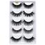 NEW-5-Pairs-Layered-False-Eyelashes-Dramatic-3D-Wispy-Lashes-Makeup-Strip-UK thumbnail 15
