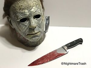 Halloween 2018 Michael Myers Knife.Details About Michael Myers Halloween 2018 Real Knife Movie Prop Screen Accurate Horror Mask