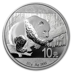 SPECIAL-CHINESE-SILVER-PANDA-2016-30-Gram-Pure-Silver-Coin-in-Capsule