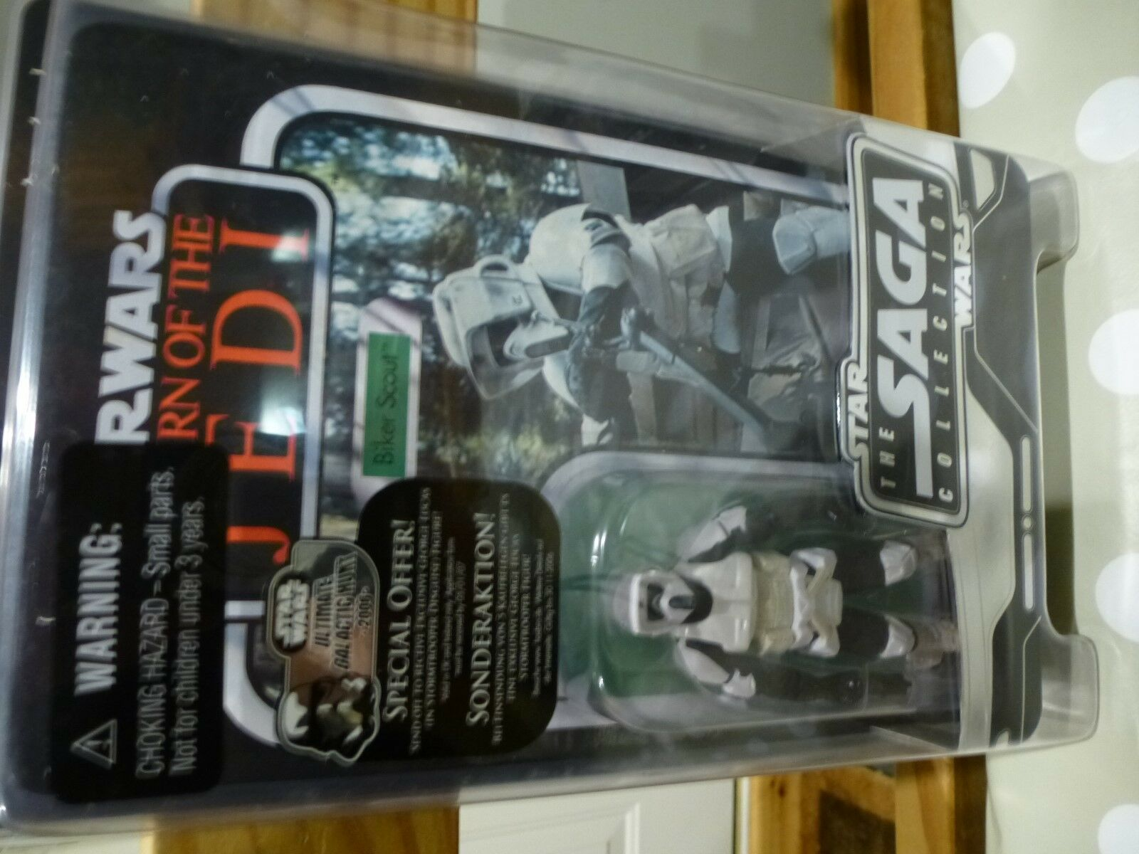 * Nouveau * STAR WARS 2007 Sega collection collection collection x5 Sand People Greedo Han Solo Biker Scout 362900