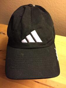 f406836ed0d Image is loading adidas-Adjustable-Black-Baseball-Hat-Cap-TL7
