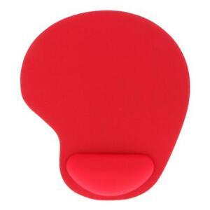 Tapis-De-Souris-Ergonomique-Confort-De-Repose-Poignet-Pour-Ordinateur-Rouge