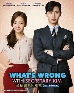 Korean-Drama-WHAT-039-S-WRONG-WITH-SECRETARY-KIM-1-16-End-English-Sub-Ship-From-USA