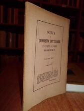 DUE EPISTOLE d' Ovidio tratte dal volgarizzamento delle Eroidi...  1862