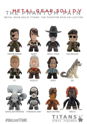 """Metal Gear Solid The Phantom Pain Collect 1 3/"""" Blind Box Titans Vinyl Figures"""