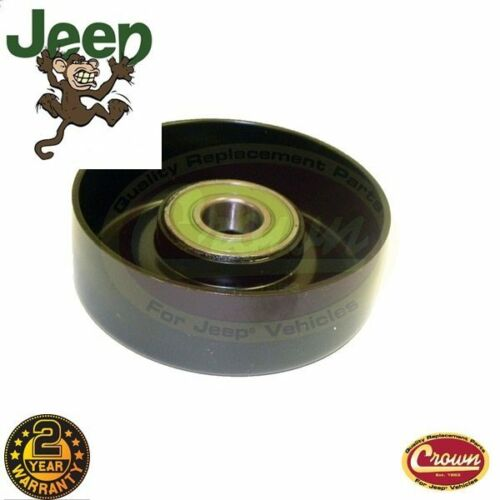 """Jeep Wrangler Cherokee 97-98 2.5L 4.0L Smooth Pulley 3.55/"""" 90mm 53002905"""