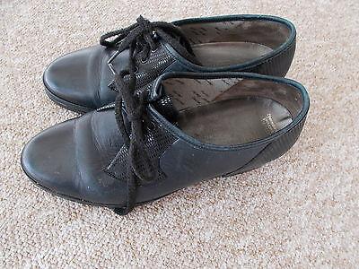 Semler Schuhe Gr.4 Weite G Schwarz