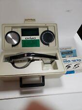 Dymo 1570 Deluxe Chrome Tapewriter Label Maker 2dymo Font Wheels Original Case