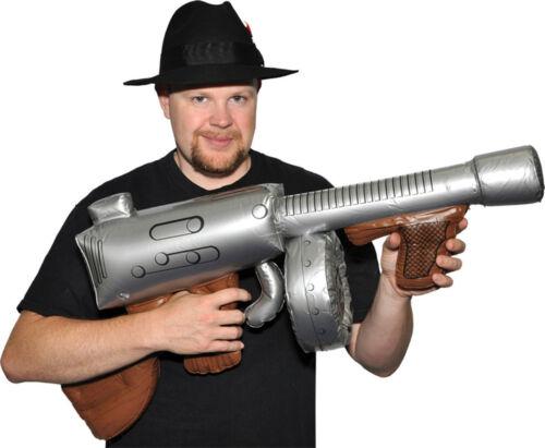 RU59077 Morris Costumes Inflatable Machine Realistic Look Gun Props
